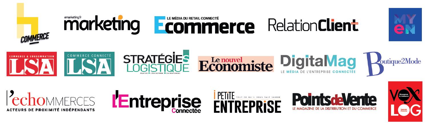Discover our Paris Retail Week Medias Partners