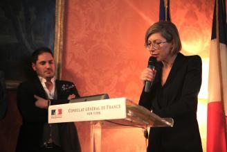 Anne-Claire Legendre, Consule Générale de France à New York - NRFrench Party