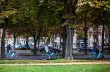 venir en velib à Porte de Versailles