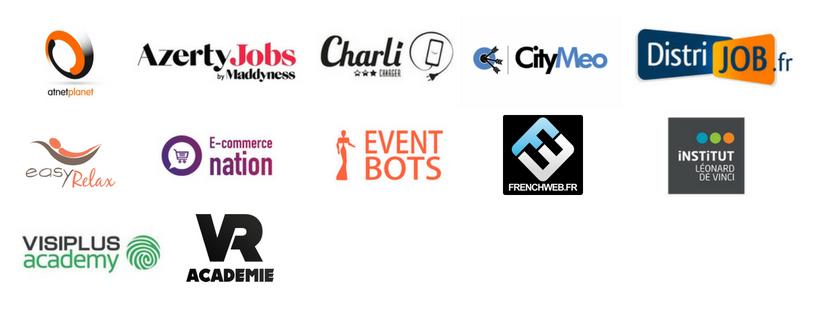 partenaires animation de Paris Retail Week