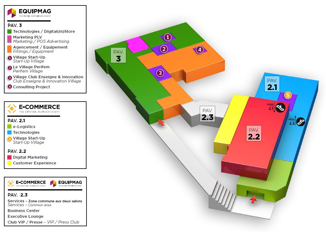 Floor plan - Plan parc expo porte de versailles ...